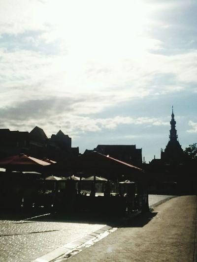 Evening Sun over the Havenplein