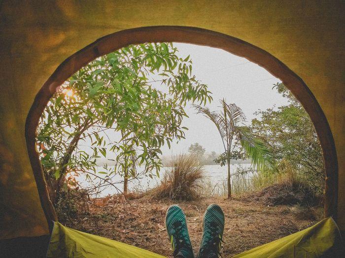 🏕️ Camping Morning 🌅 Camping Adventures Letsstartadventures Camp Travel Meusviews Journeyphotography Uandvworks Photography Blog Travelmore Journey Savemore Milestone River Riverside Trekking Tentview The Traveler - 2018 EyeEm Awards