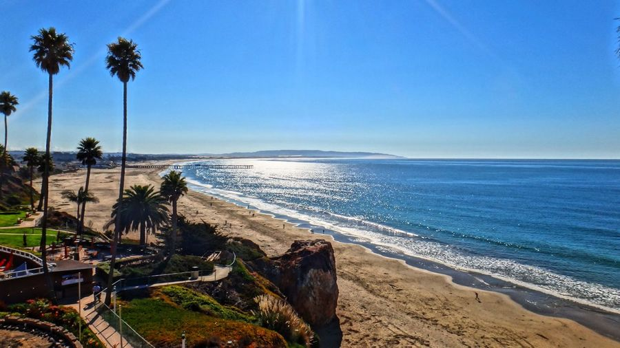 Beach Coastline Exploring Horizon Over Water Ocean Outdoors Sand Scenics Sea Seascape Shore Summer Surf Tranquil Scene Tropical Climate Vacation Vacations Water Wave