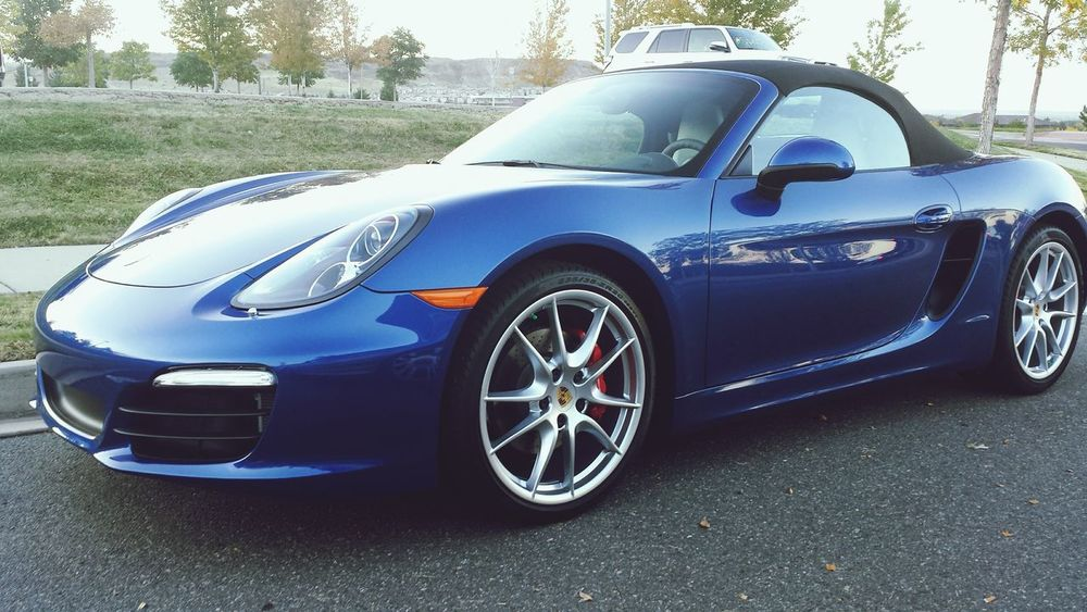 C o o l w h i p Porsche Ride Beautiful Car Nice Car Parked Ride Blue Car Parking Lot Whip