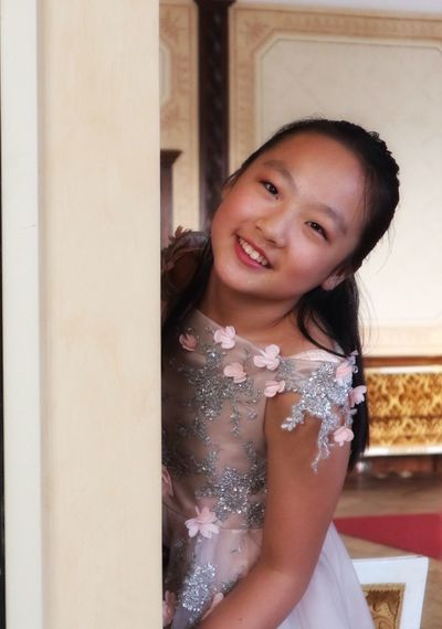 Monica Zhang Eleven Years Old Portrait Girl Smile Music Belloni Theater Barlassina Milan Italy Musician Life Jocking A New Beginning This Is Strength Beauty Smiling This Is Natural Beauty International Women's Day 2019