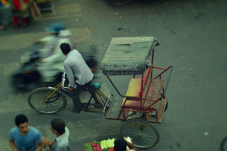 Photography In Motion Motionphotography Motion Riksha Hardwork Streetphotography India Delhi