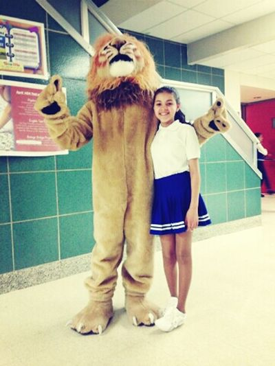 Yesterday With The Lion :P