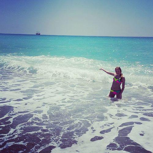 Море море унеси меняя🌊🌊🌊 Море Kerwprod💕 Турция2015 12_06_2015 день_рождения_отмечали_в_Турции Like4like Star Likes Repost Father