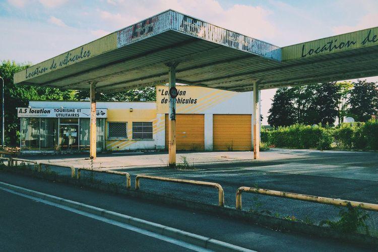 Car Rental Rental Abandoned Location La France Vraie Empty Empty Places Reims