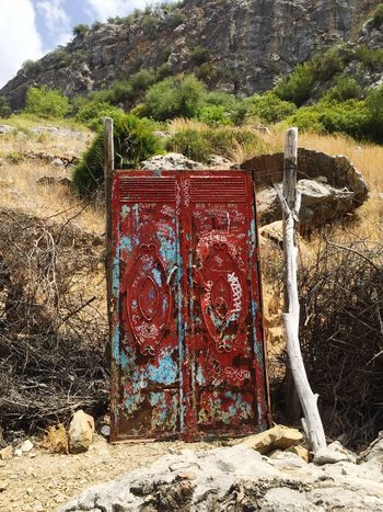 Door Doors Doors Obsession Countryside Countryside Door Security Nature Wall Morrocco Marocco