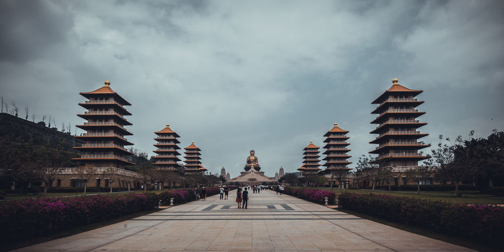 Buddha Foguangshan Kaohsiung Taiwan Travel Photography Architecture Building Building Exterior Built Structure Cloud - Sky Day Nature Outdoors Religion Sky Tainan Temple Tower Travel Travel Destinations