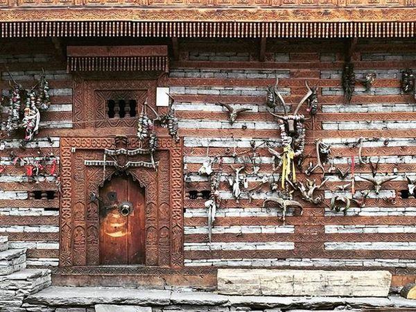 Jamnu Rishi temple. Travel Himachal