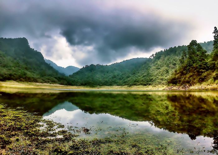Mountain Reflection Lake Landscape Scenics Nature Mountain Range Beauty In Nature Water Mountain Peak Summer Rock - Object Wilderness Outdoors Pinaceae Vacations Forest No People Tree Day