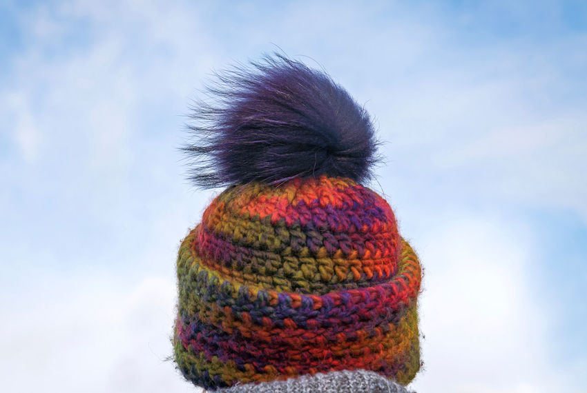 Windy Day Windy The Furious Fifties Handwork Pudelmütze Woman Islandlife Island EyeEm Germany Wintertime Winter Clouds And Sky Clouds Cold Cold Temperature Color Wool Bobblehead Bobble Hat Selected For Premium Premium Collection The EyeEm Collection Shades Of Winter