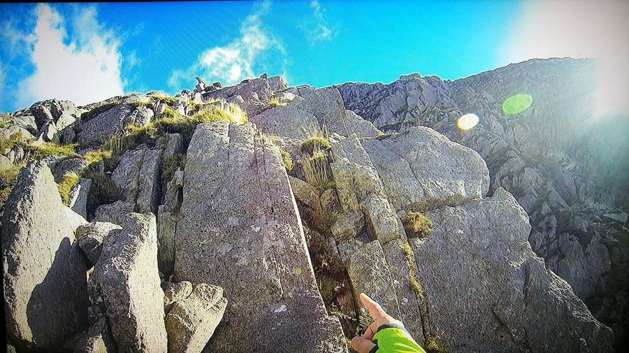 Looking Up Pinnacle Ridge St Sunday Crag Lake District Mountain Adventures Scrambling The Grade 3 Go Higher