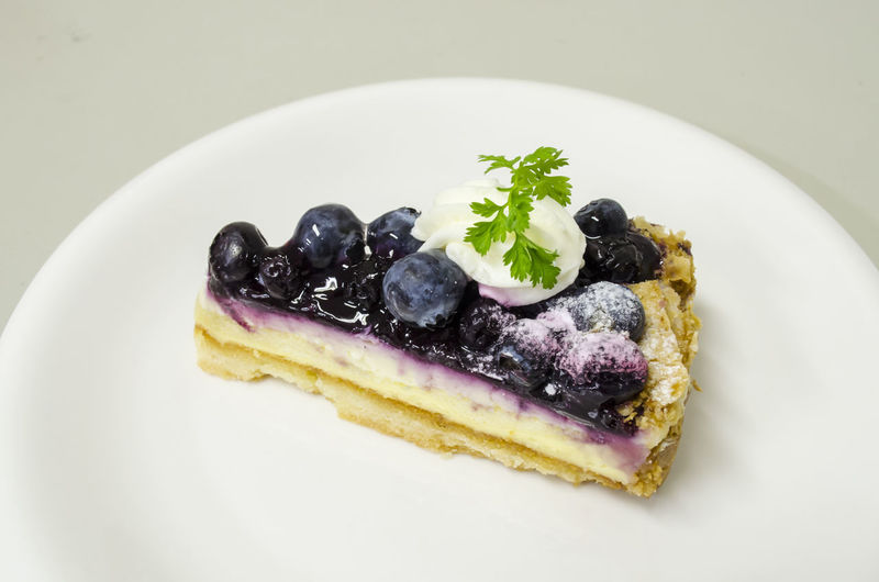 Delicious Blueberry Cheese Pie Blueberries Blueberry Blueberry Pie Blueberrycheesecake Close-up Dessert Food Food And Drink Freshness Fruit Indoors  Indulgence No People Plate Ready-to-eat Serving Size Sweet Food Temptation
