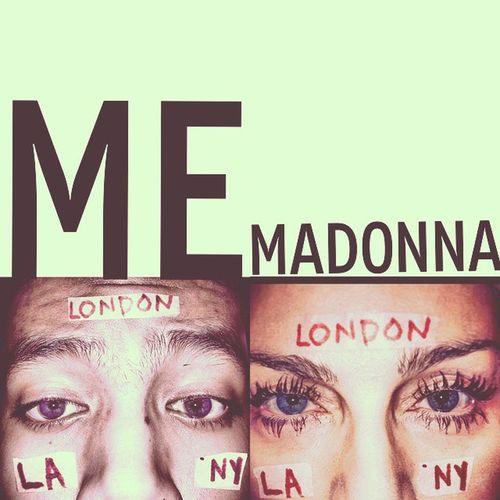 @madona i can do it! Revolutionoflove Artforfreedom Madonna MDNA