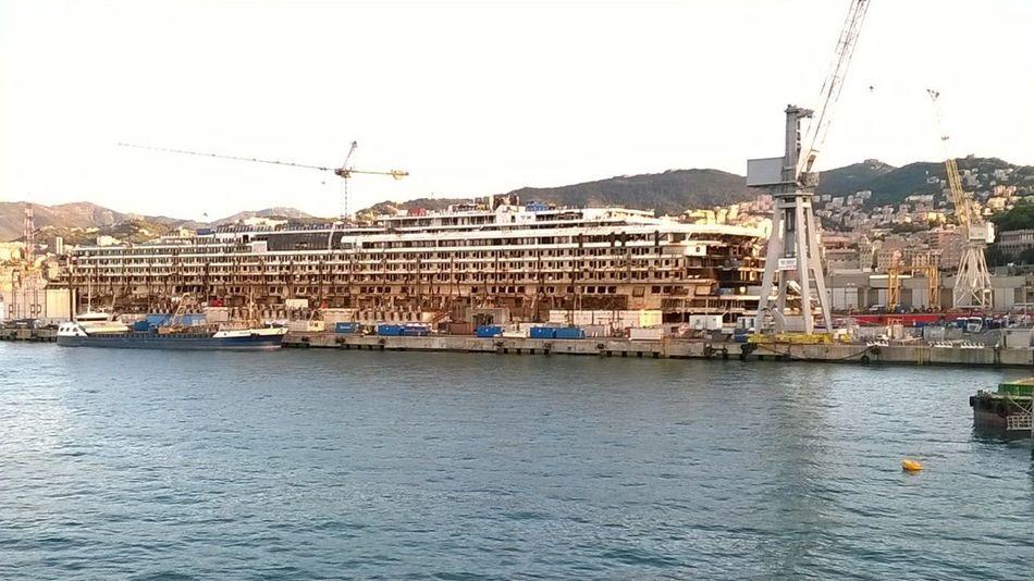 Aida Genova Have A Nice Day♥ Italian Italy Modern Ocean Ship Shipfracked