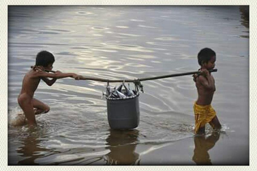 People Are People Travelingindonesia Life Is A Beach Waterworld Hello World Traditionalfisherman Fisherman INDONESIA