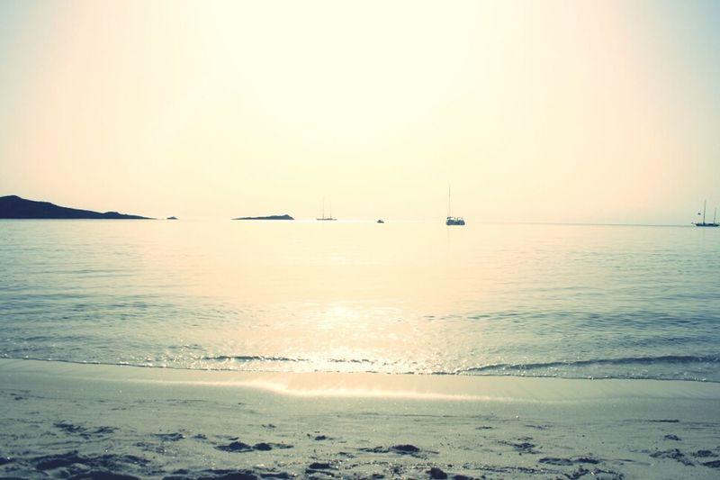Enjoying The Last Day On The Beach