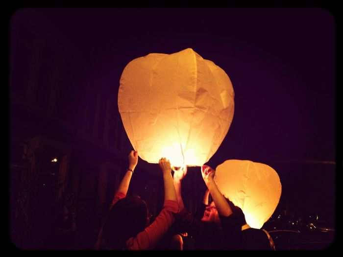 New Year's Lanterns