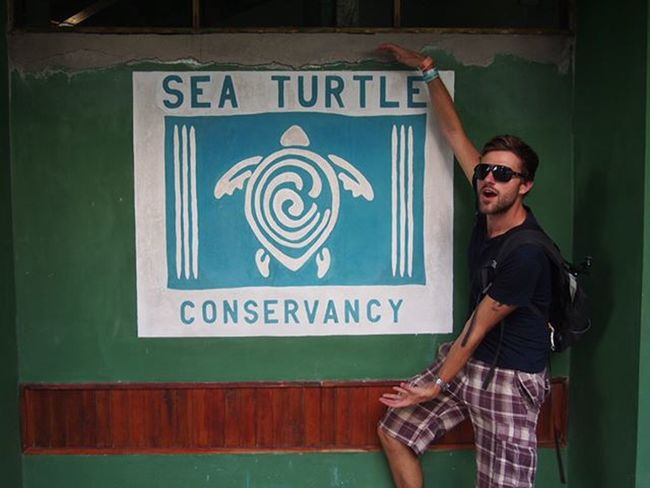 I got a little excited at the Sea Turtle Sanctuary in Tortuguero --------------------------------------- Seaturtlesanctuary Tortuguero  Exploretortuguero Costarica Explorecostarica Excited Gadventures Olympus Travel Travelling Learning