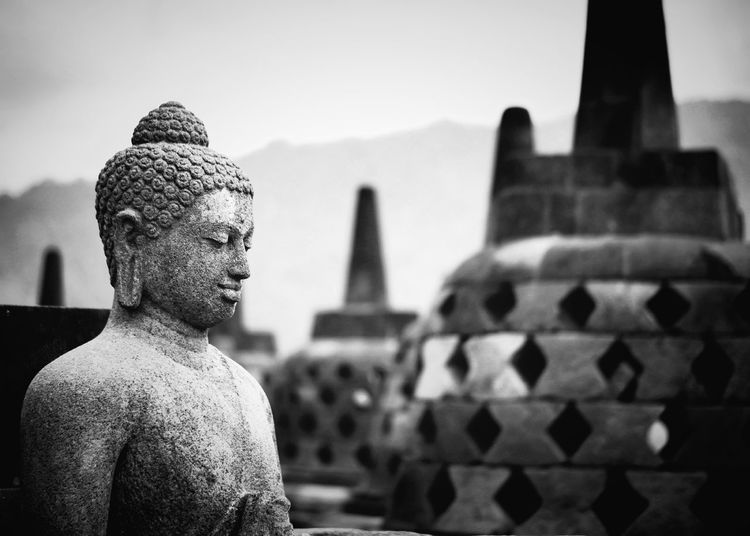 Blessing Statue Religion Travel Destinations