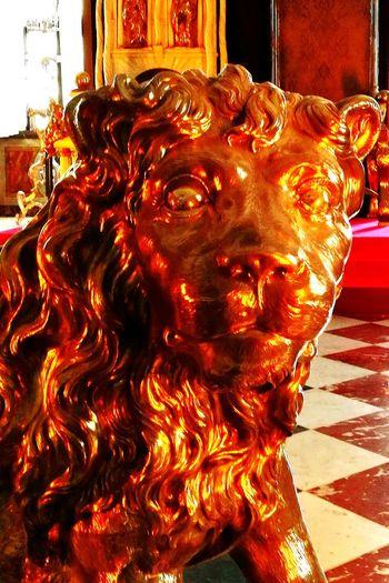 Statue Sculpture Silverlion Rosenborg Slot Rosenborg Castle Castle Copenhagen