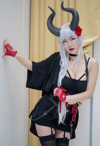 Katsucon 2019 Katsucon 2019 Cosplayer Cosplay One Person Red Indoors  Real People Young Women Front View Costume Women Clothing Leisure Activity Beautiful Woman