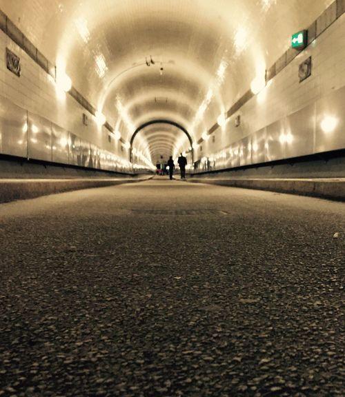 Tunnel Vision Underground Passage Drive Through Drive Thru