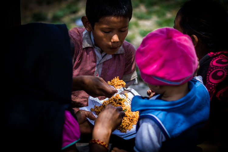 Lunch time Boy Care Childhood Eating Enjoyment Family Fingerfood Food Foodphotography Friendship Girl Kathmandu Kathmandu Valley Kids Lunch Lunch Time! Nepal Nepalese Culture Nepalesefood Togetherness