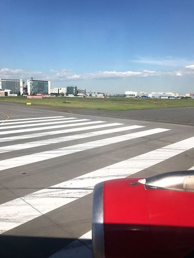 Sunlight Transportation Day Shadow Sky Outdoors Cloud - Sky No People Airport Airport Runway Built Structure Architecture Runway Airplane City Nature Saint Petersburg City Air Vehicle Let's Go. Together.