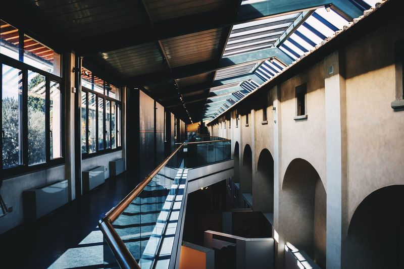 EyeEm Selects geometry museum In A Row No People Indoors  Day Built Structure Architecture Geometry Italy Lines Shadows EyeEm Best Shots The Week On EyeEm