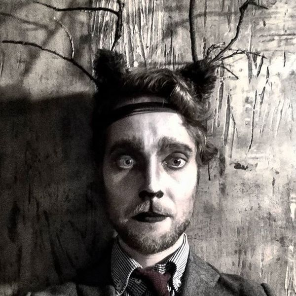 that time i turned into a wood-faun-deer man ...... Dandy Halloween Faun