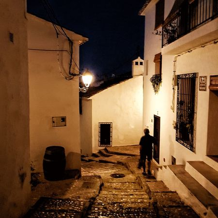 Altea Alicante SPAIN Cascoantiguo Architecture Building Exterior Built Structure Night City Street Real People Illuminated Walking Residential District Lifestyles City Life The Street Photographer - 2018 EyeEm Awards
