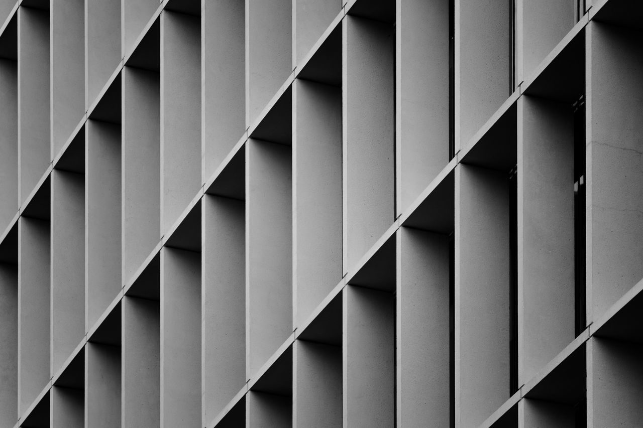 architecture, full frame, built structure, connection, backgrounds, repetition, pattern, no people, day, zigzag, indoors, close-up, girder