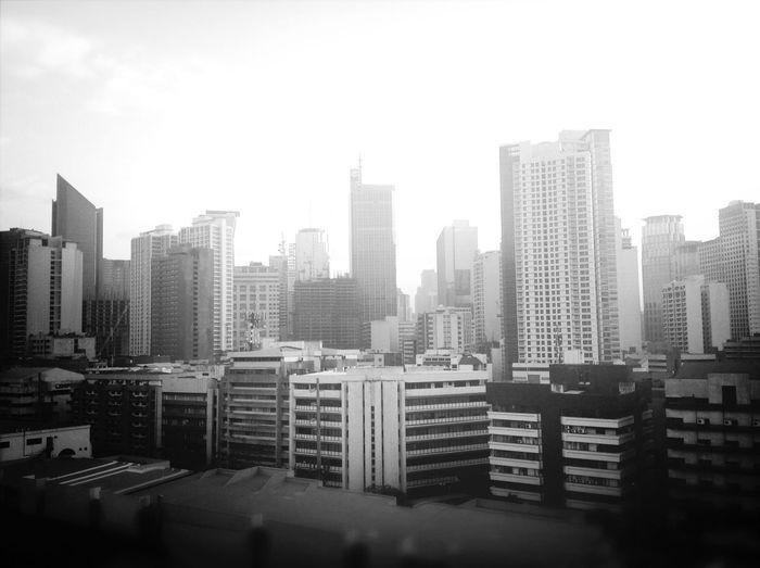 Makati Skyline. Hello World
