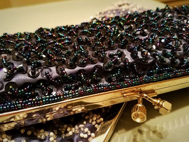beaded clutch purses Close-up Purses Purse Bag Handbag  Fancy Dressy Sequined Sequin Sequins Beaded Beads Sparkly Clutch Bag Clutch Nightlife Dressed Up Dress Up Dressing Up Special Occasion