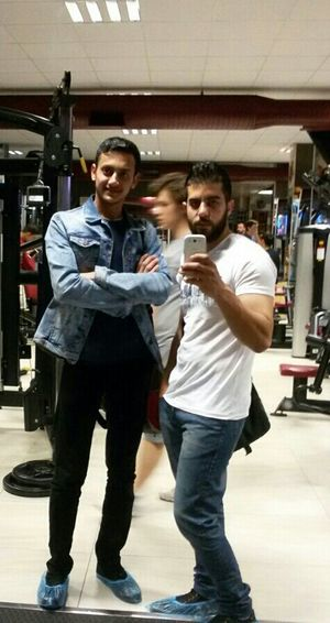 In The Gym With My Friend