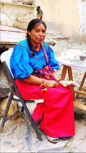 Huichol Huicholes Real De Catorce Indian Native