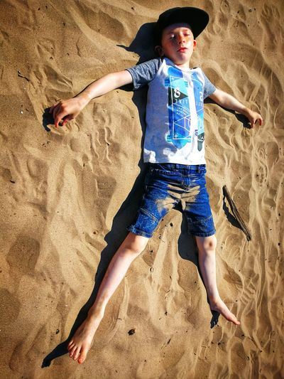 My Son P10 Plus Photography Sand Dune Child Full Length Beach Childhood Sand Summer Fun barefoot Shore FootPrint