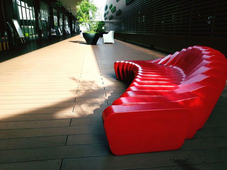 EyeEm Selects Redsofa sofa APB : No Limits No People Ktpclassic