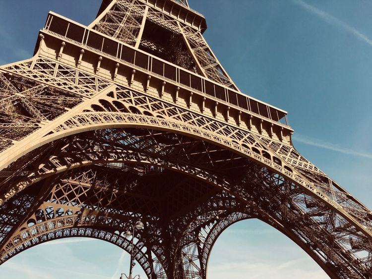 Eyeemarchitecture EyeEm Gallery EyeEmNewHere Detailphotography Detail Monument Historique Amazingarchitecture Gustave Eiffel Ikone Architecture_collection Paris, France  Eifel Tower Architecture Low Angle View Arch Built Structure Travel Destinations Sky History Building Exterior No People EyeEmNewHere