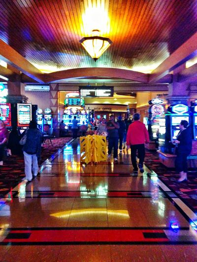 on the way out Taking Photos Enjoying Life Casino Pechanga SoCal Slot Machine Night Out Popular Photos Gambling