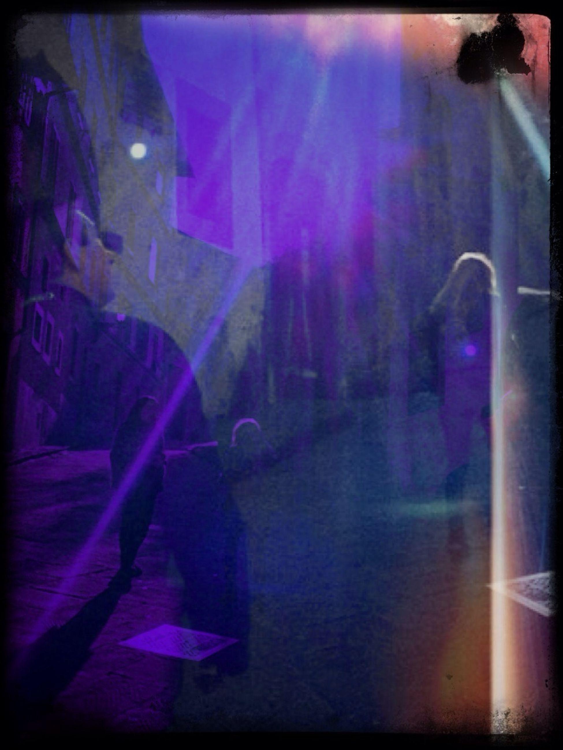 transfer print, auto post production filter, lifestyles, men, illuminated, indoors, night, leisure activity, person, full length, street, walking, light - natural phenomenon, standing, sunlight, built structure, silhouette