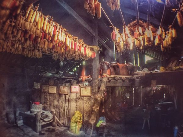 Food storage prepared for the winter EyeEmNewHere I Love Sapa No People Traditional Way Of Life Corns Food Eating Culture Indoors  Old Houses