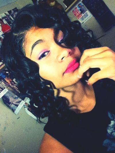 Just Got My Hair N Makeup Done