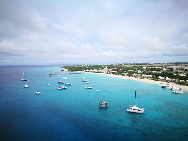 Sea High Angle View Outdoors Coastline Travel Traveling Lifewelltravelled Tourist Tranquility Nature Water Nofilterneeded Grandturk Grand Turk Island Grand Turk, Turks & Caicos An Eye For Travel
