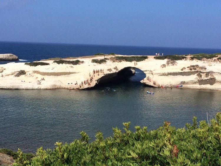 Beauty In Nature Blue Bow Rocks S'archittu Sardegna Sea Seascape Water