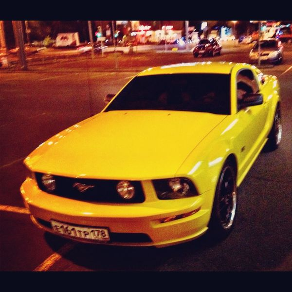 Ford Mustang Cars Moscow
