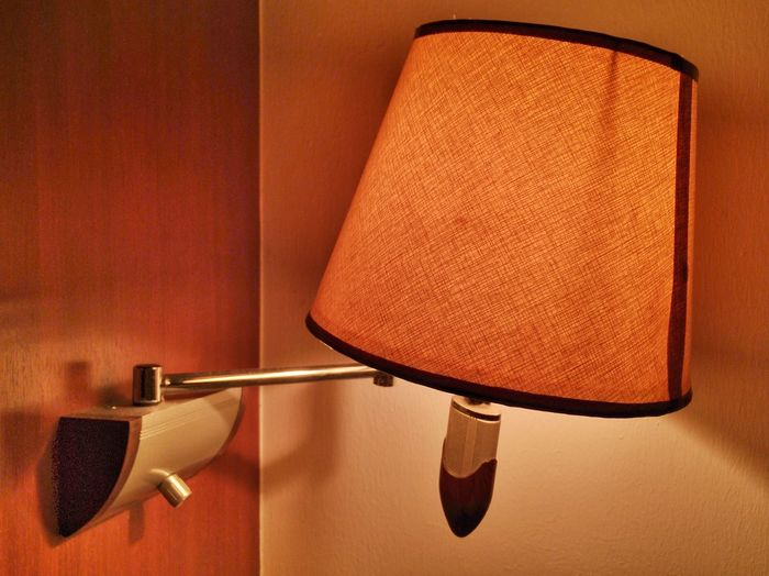 Bedside lamp Indoors  No People Illuminated Close-up Lamp Night Light Bedside Lamp