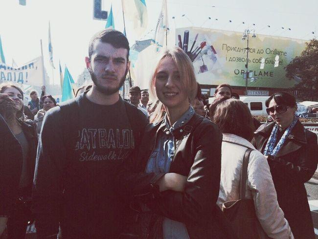 підтримка Маршу за Мир людей з особливими потребами Pease Ukraine Check This Out