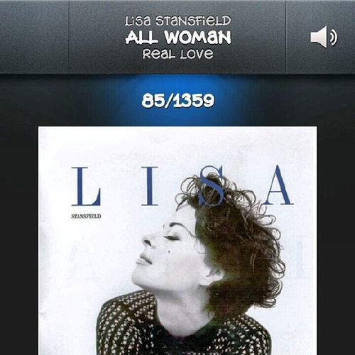 To sing this with a live band would be a dream come true for me. LisaStansfield Allwoman I'm no classy lady but I'm all woman