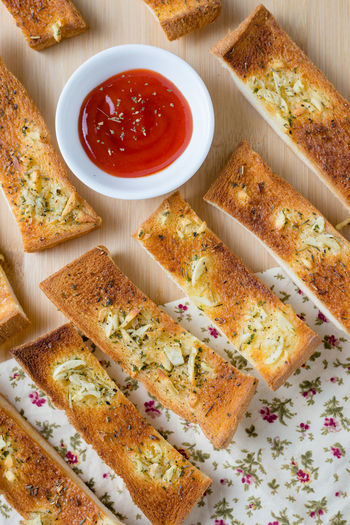 Appetizer Baked Baked Pastry Item Bowl Bread Bread Sticks  Breakfast Close-up Day DIP Food Food And Drink Freshness Garlic Bread Healthy Eating Indoors  Italian Food Ketchup No People Plate Ready-to-eat Toasted Bread